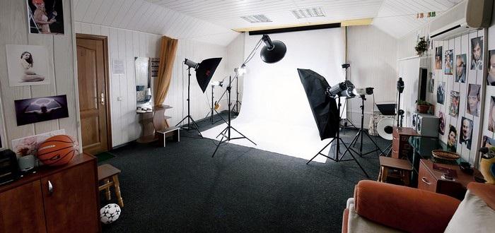 Как сделать фотостудию у себя дома 123