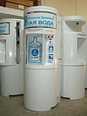 Вендинговый аппарат по продаже воды