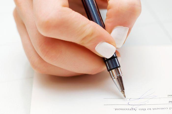 Правила составления письма-уведомления