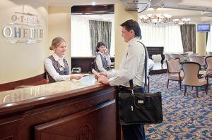 Корпоративные клиенты в гостинице