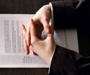 Резолюция на служебном письме