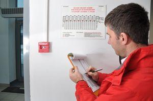 Ответственные за составление Акта проверки работоспособности пожарной сигнализации