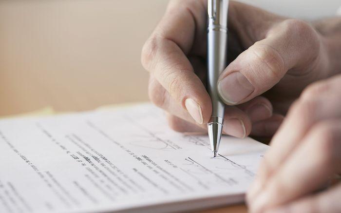 Назначение расписки