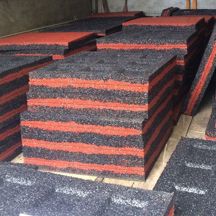 Производство тротуарной резиновой плитки в домашних условиях