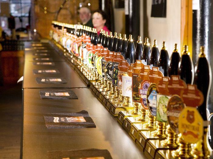 Условия франшиз магазина разливного пива Бутик пива и Пинта